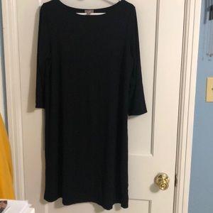 J Jill black dress